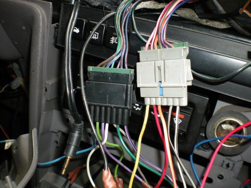 Comment brancher un autoradio sur Chrysler Voyager S2? Photo_28