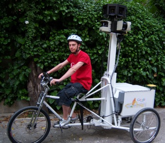 L'ultima arma di Street View è un triciclo Google10
