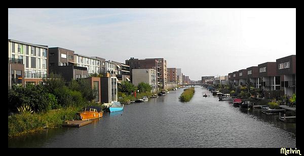 architecture aux Pays-Bas Canaux10