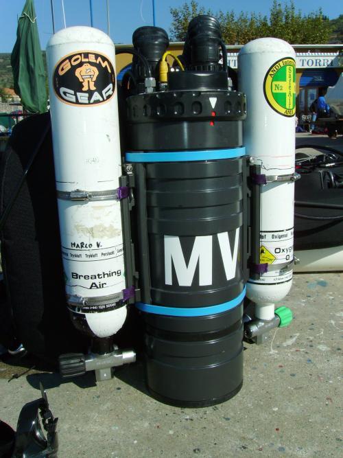 Md-X Rebreathers - CCR HammerHead della Juergensen Marine Di Marco Valenti Ccrhh110