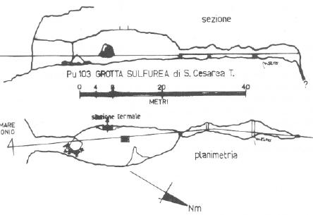 Grotta Grande o Sulfurea Santa Cesarea (LE) Sulfur10