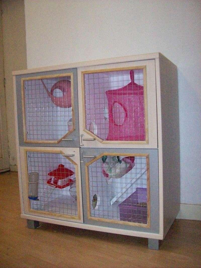 Grande cage artisanale pour tous Rongeurs Nord (59) + covoit 101_0718