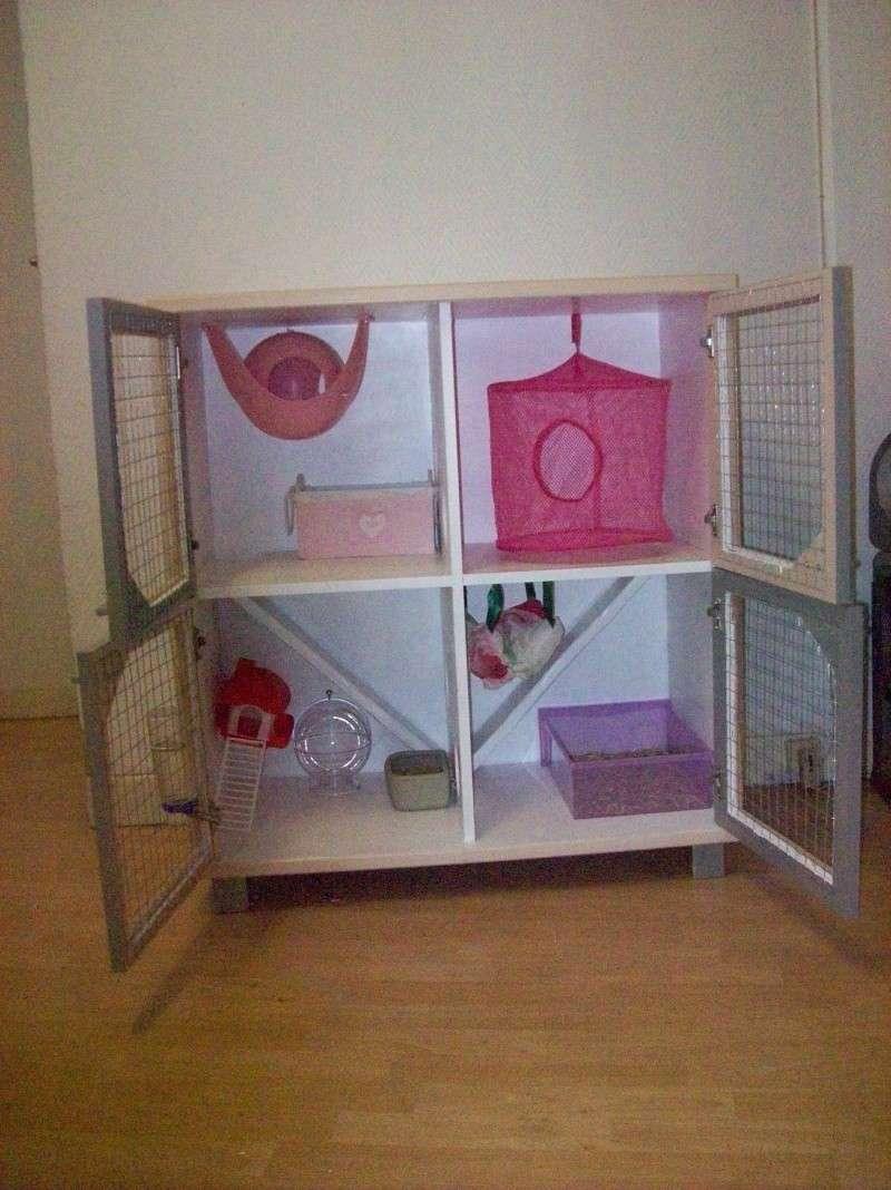 Grande cage artisanale pour tous Rongeurs Nord (59) + covoit 101_0719
