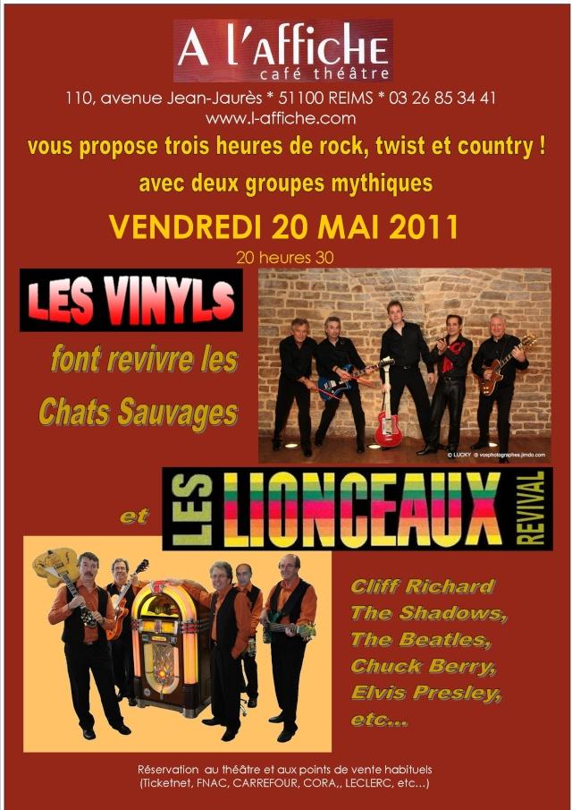 LES LIONCEAUX - 20 MAI 2011 - REIMS Affich10