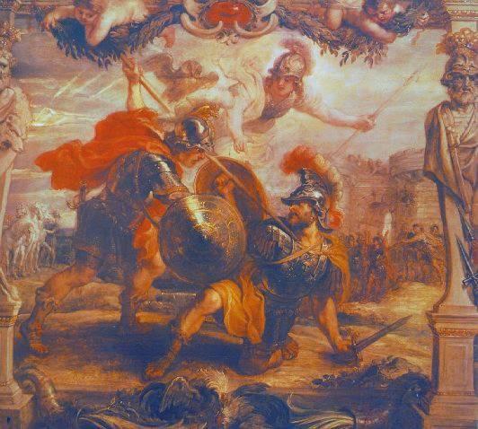 La guerre de Troie Achill11
