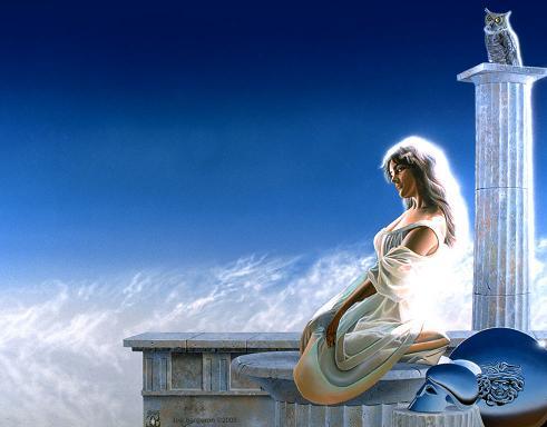 La Mythologie Grecque Athena10