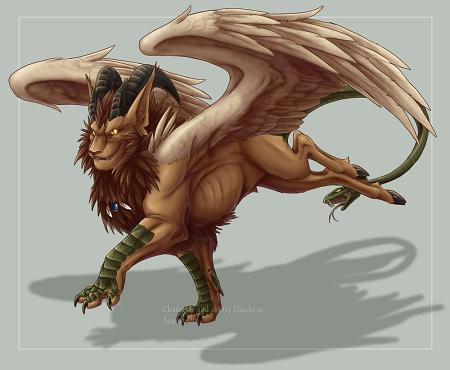 La Mythologie Grecque Chimar10