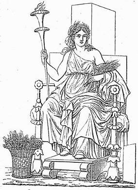 La Mythologie Grecque Demete10