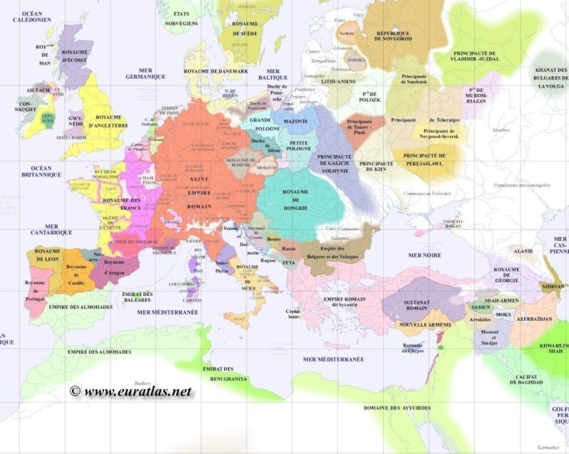 Cartes du Monde de l'an 1000 à nos jours Gr120010