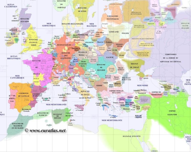 Cartes du Monde de l'an 1000 à nos jours Gr130010
