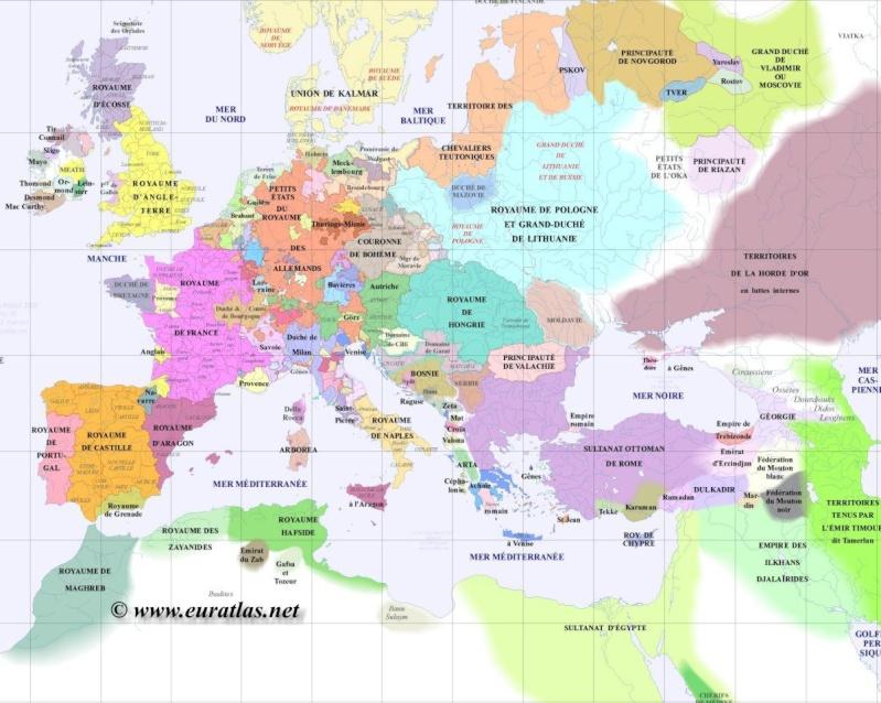 Cartes du Monde de l'an 1000 à nos jours Gr140010