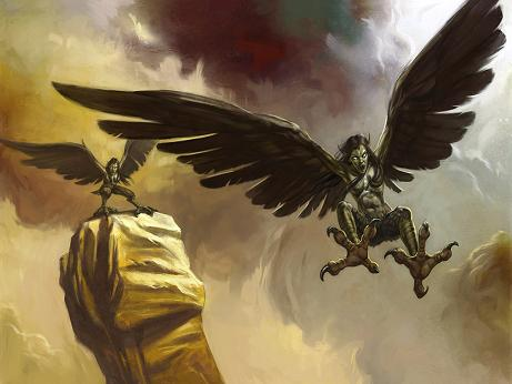 La Mythologie Grecque Harpy_10