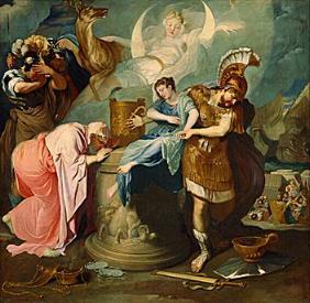 La guerre de Troie Iphige10
