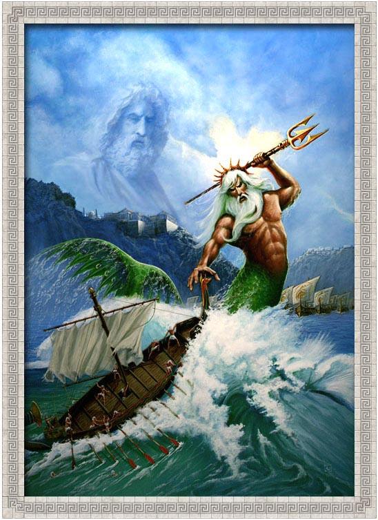 La Mythologie Grecque Poseid10