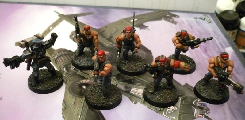 Galerie de Dindon: Space Marines et autres ! Gardes13