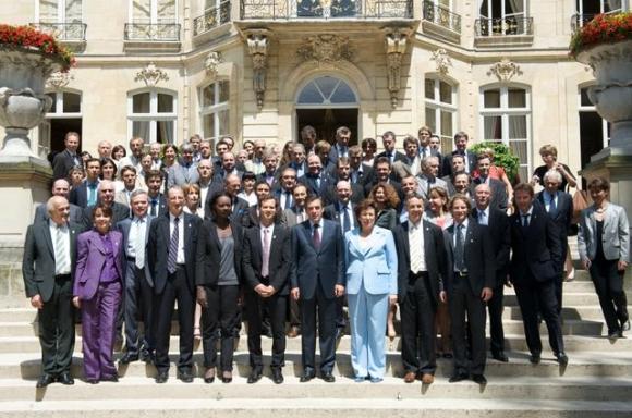 L'équipe d'Annecy 2018 reçu par le Premier Ministre à Matignon - 25/06/2010 10426011