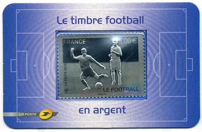 Timbres France - Coupe du Monde de Football FIFA Afrique du Sud 2010 11100210