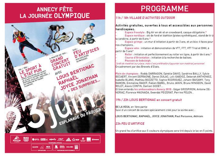 Journée Mondiale de l'Olympisme 2010 : Tous à Annecy 20838_10
