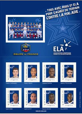 Timbres France - Equipe de France de Football 2010 21109410