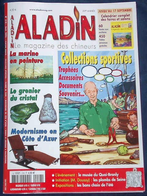Aladin - Aôut 2006 - Spécial Collections Olympiques Aladin10