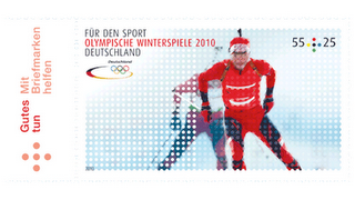Timbres Allemagne - Jeux Olympiques Vancouver 2010 Allema10