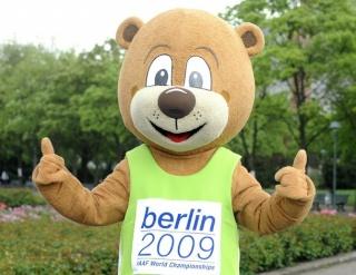 Berlino : la mascotte des Championnats du Monde d'Athlétisme 2009 Berlin13
