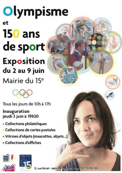 Exposition Olympisme & 150 ans de Sport à Paris 15e Expo_110