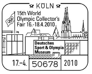 FOIRE MONDIALE DES COLLECTIONNEURS OLYMPIQUES - COLOGNE 2010 Koeln-10