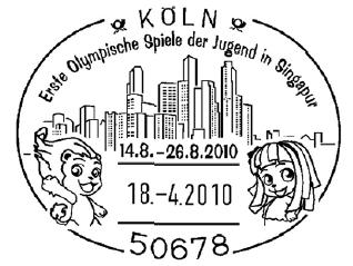 Foire aux Collectionneurs Olympiques - Cologne 2010 Koeln-11