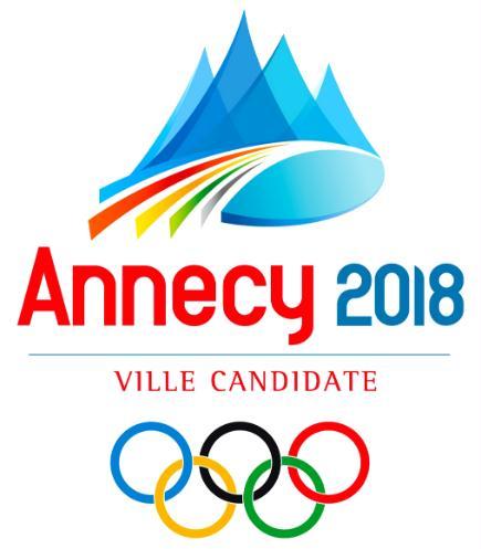 Logo de ville candidate pour Annecy 2018 Logo2010