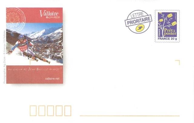 Prêt à Poster - France - Valloire & Jean-Baptiste Grange (Champion de Ski Slalom) Pap111