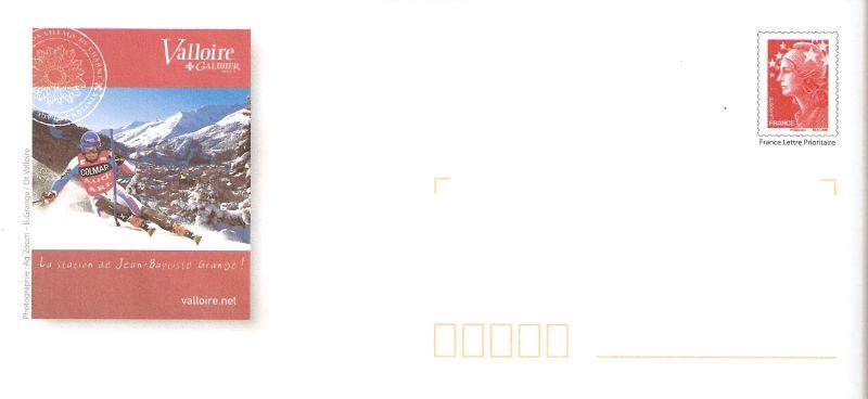 Prêt à Poster - France - Valloire & Jean-Baptiste Grange (Champion de Ski Slalom) Pap210