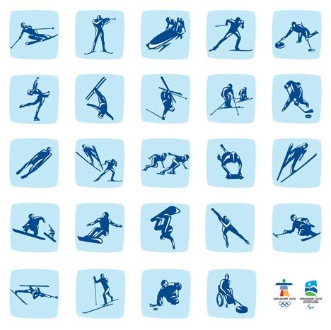 Vancouver 2010 : Les pictogrammes officiels Picto410