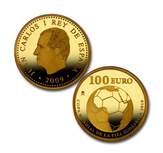 Espagne - Pièces commémoratives pour la Coupe du Monde de Football FIFA 2010 en Afrique du Sud Royal_12
