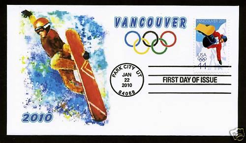 Timbre USA - Jeux Olympiques Vancouver 2010 Usa10