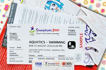 Jeux Olympiques de la Jeunesse - Singapour 2010 - Billets Yog_0910