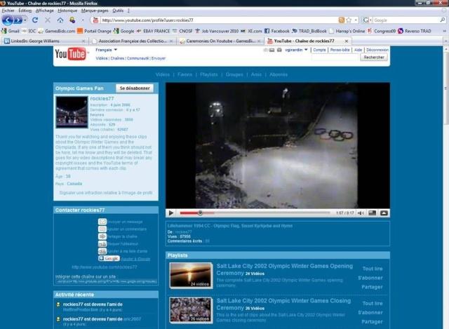 Vidéos des Cérémonies d'Ouverture des Jeux Olympiques Youtub10