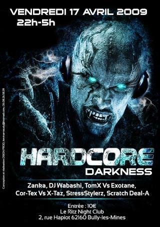 DB Traxx présente Hardcore Darkness !  [17.04.09] Affich11
