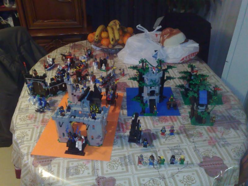 [LEGO] : MOYEN-AGE + liens 08022010