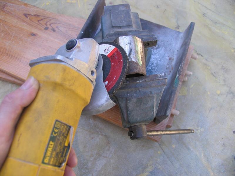 Massette tronconique,vite faite et pas chère Masset24