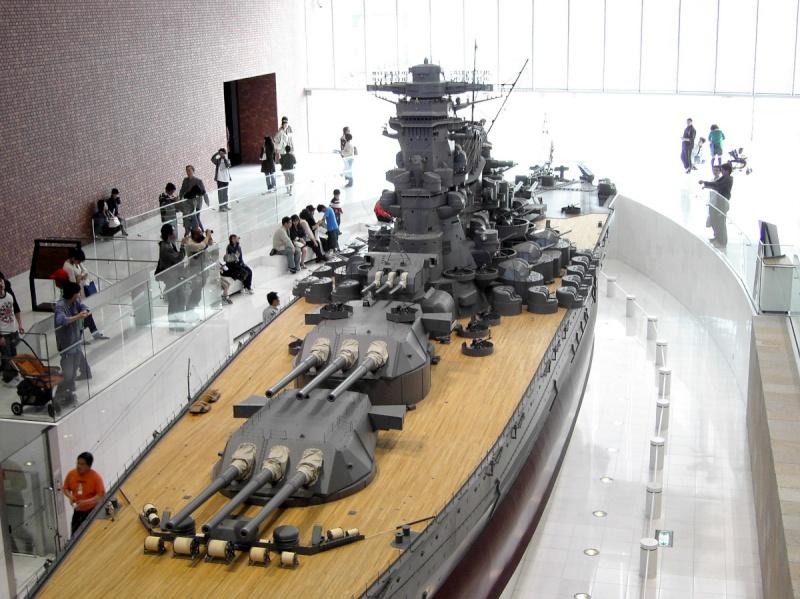 Yamato Tamiya + kit lion roar + pont en bois au 1/700 par Denis - Page 2 48347010