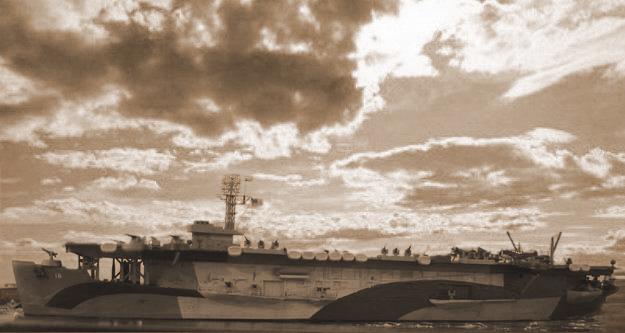 Porte avions d'escorte CVE-Nassau 1944 au 1/700  Dsc06114