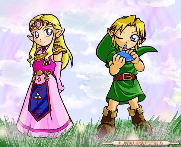 Coleccion de imagenes de Zelda. Link-z10