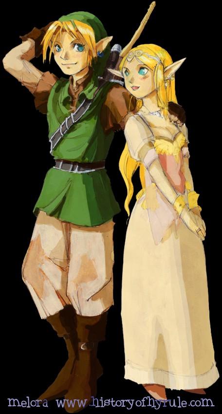 Coleccion de imagenes de Zelda. Melora10