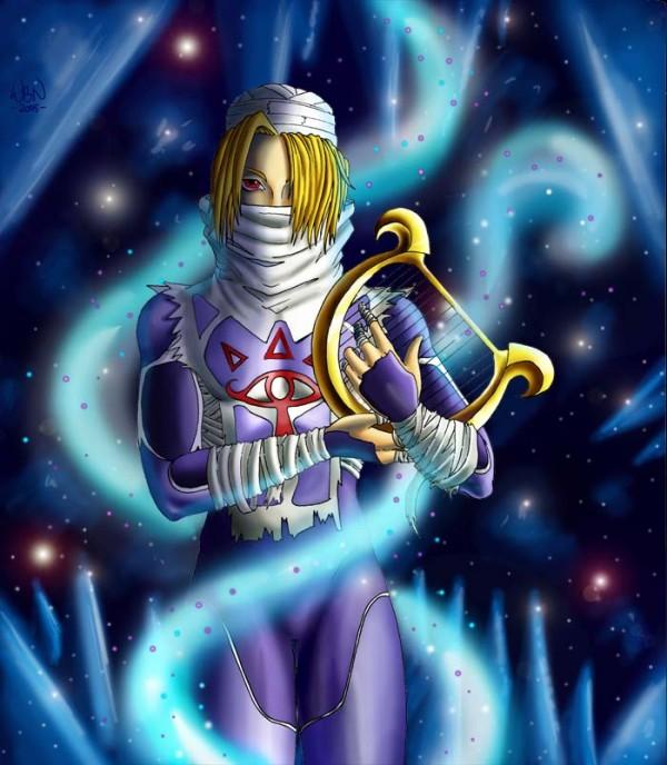 Coleccion de imagenes de Zelda. Sheik_10