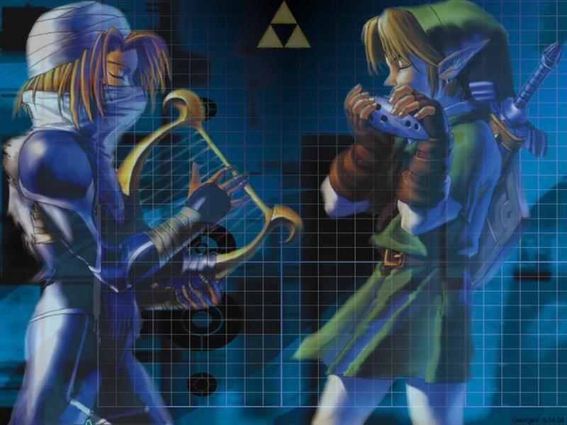 Coleccion de imagenes de Zelda. Sheik_14