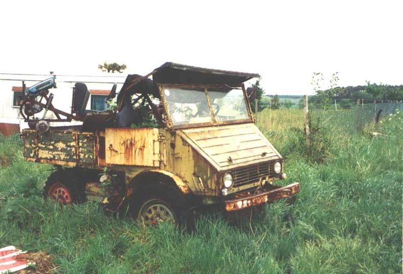 La restauration de Alf Unimog 401 de 1955 401-1114
