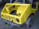 La restauration de Alf Unimog 401 de 1955 401-1111