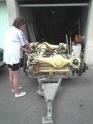La restauration de Alf Unimog 401 de 1955 401-1966