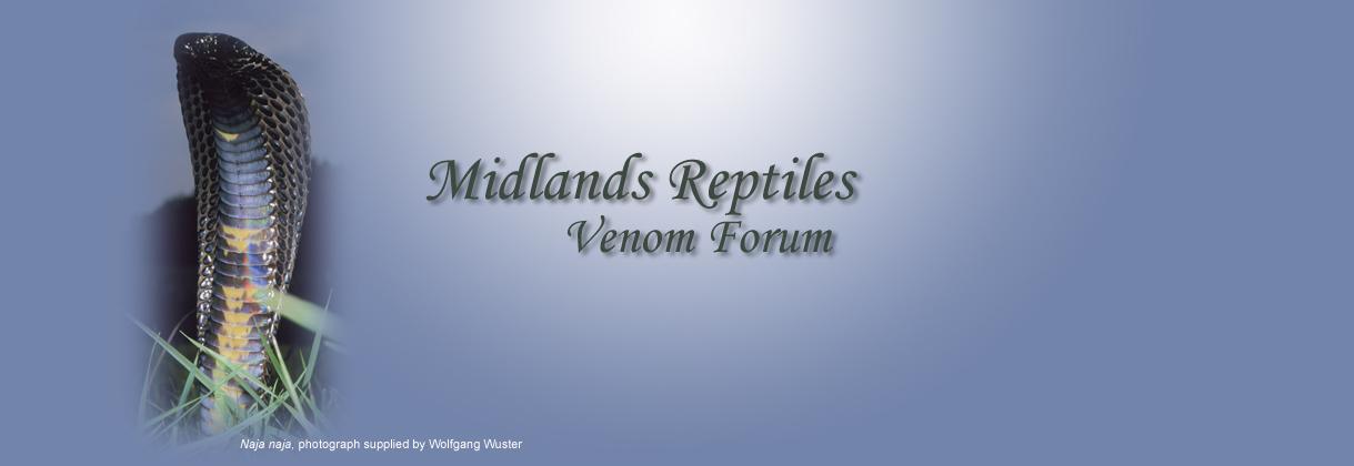 Midlands Reptiles Venom Forum